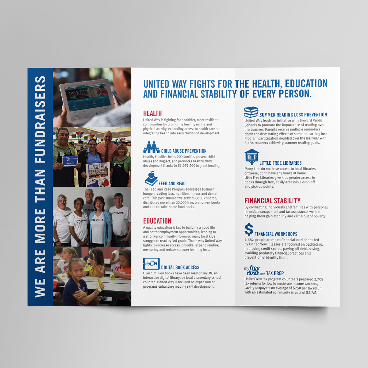 United way together campaign brochure
