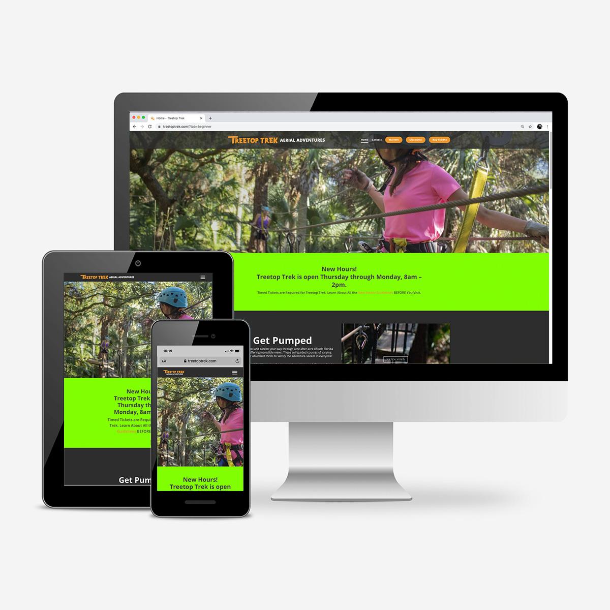 Treetop trek websites