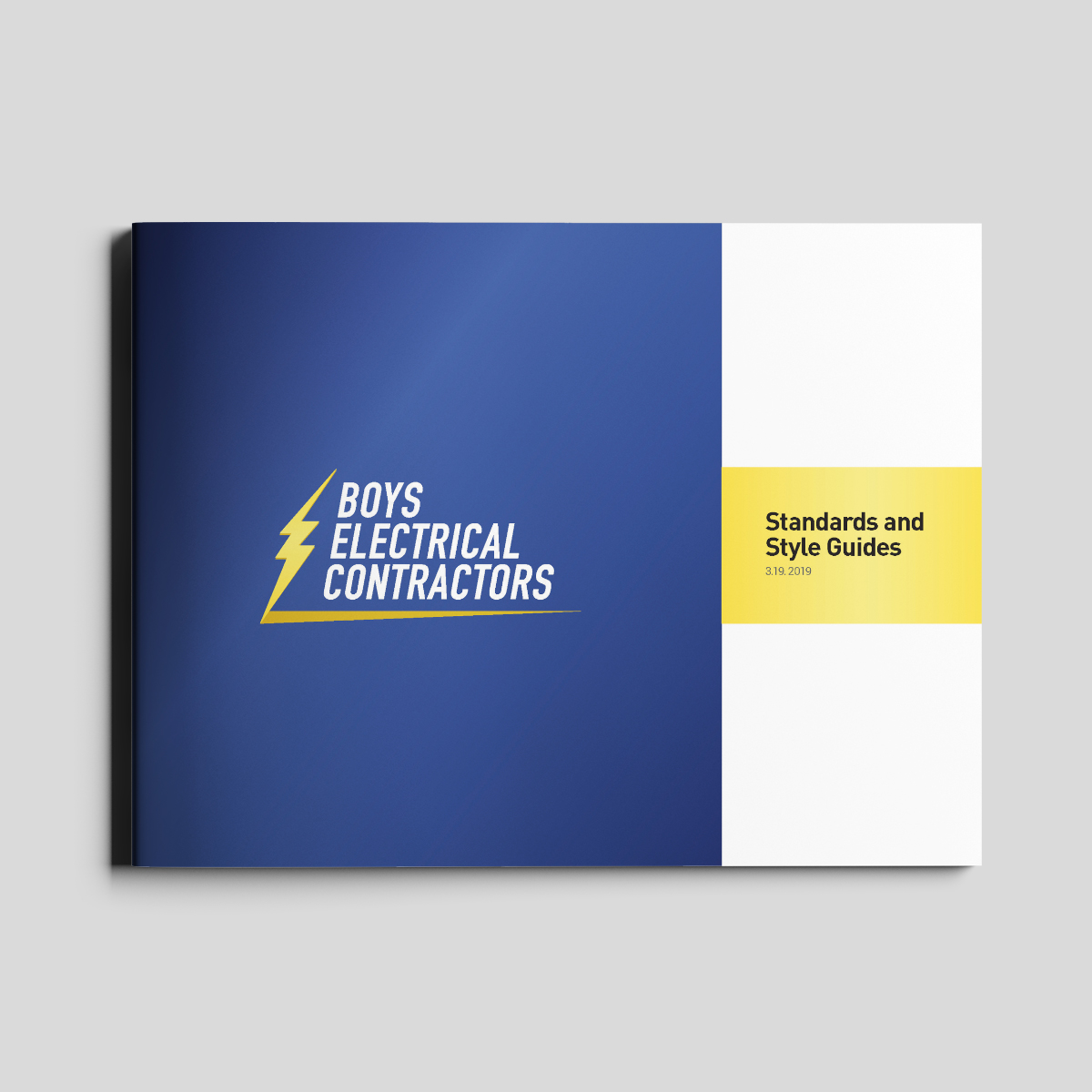 boys electrical style guide cover