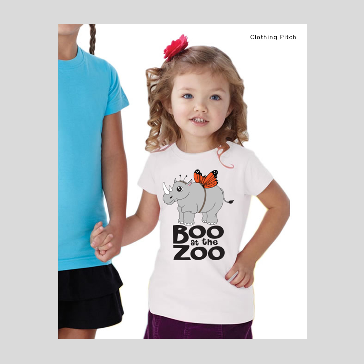 Boo at the zoo pitch t-shirt