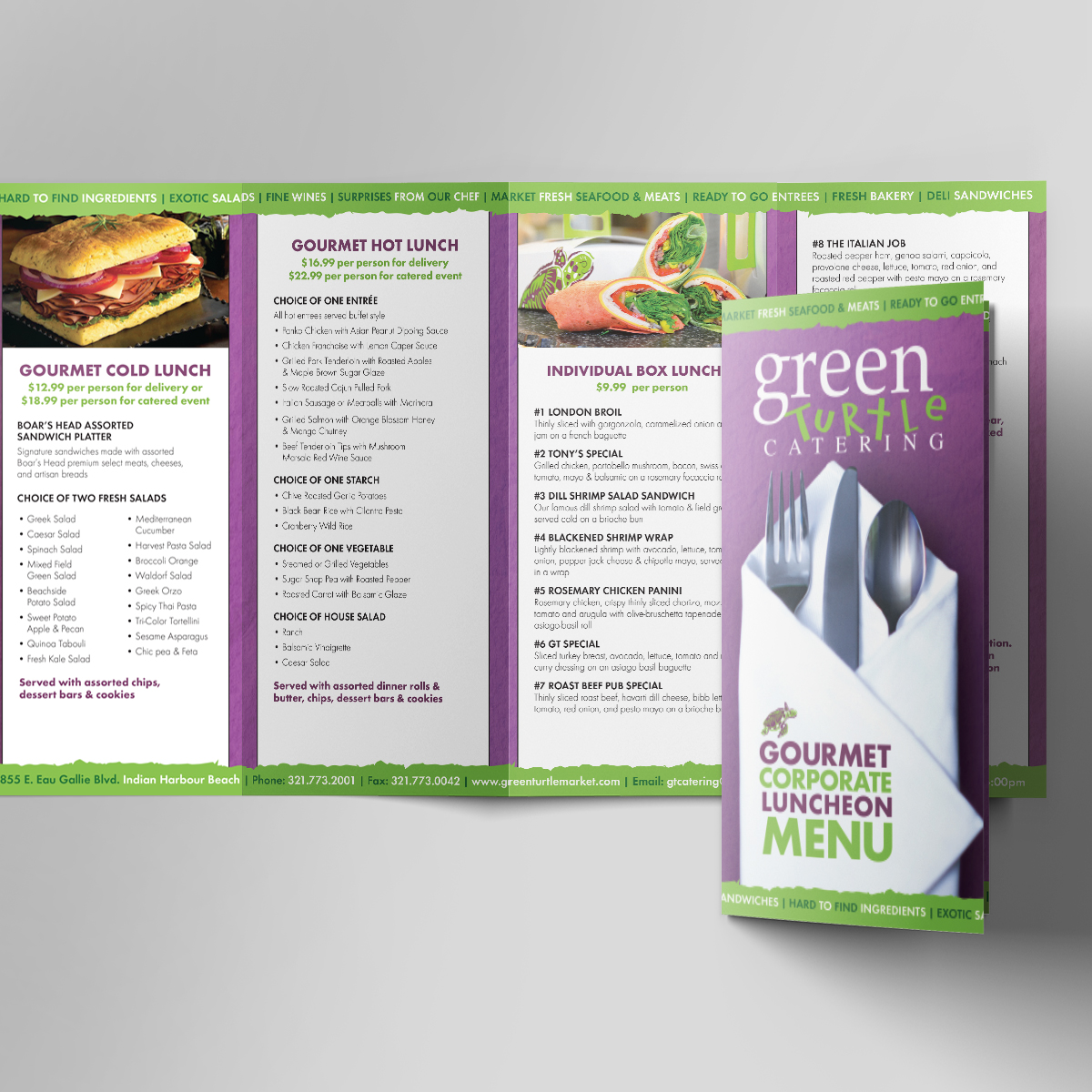 green turtle catering corporate