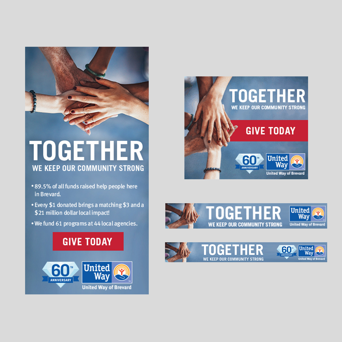United way together campaign google ads