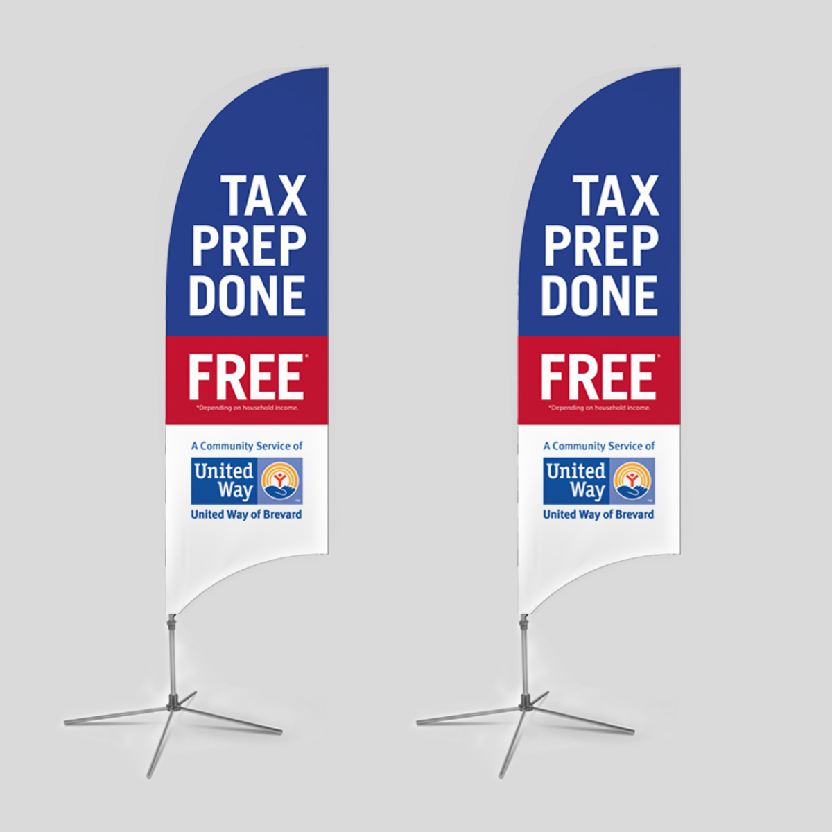 United way tax prep flags