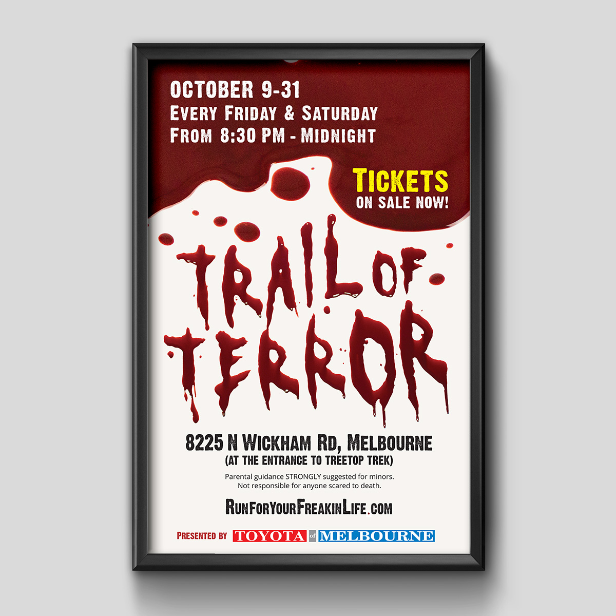 trail of terror poster